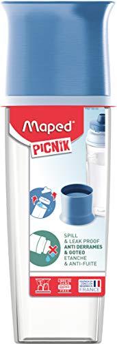 Garrafa Cristal Picnik Azul Maped