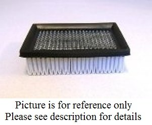Air / Vacuum Filter - Tennant - 1037822 by Cleaning Parts Direct