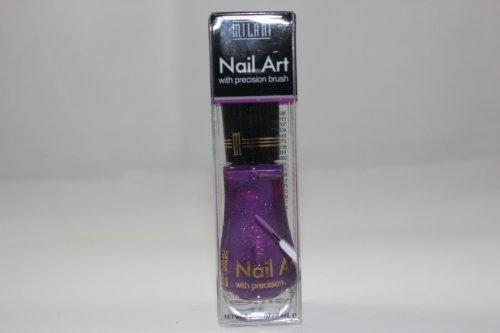 Milani Nail Art Nail Lacquer, Purple Outline 710, .25 fl oz