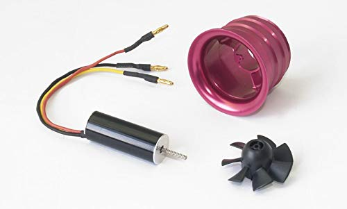 Kamas Product 27mm 30mm 35mm Metal EDF Ducted Fan System EDF for Jet Plane with 1230 Brushless Motor - (Color: EDF-M27) ()