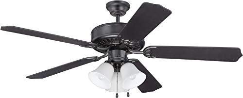 Craftmade K11113 Ceiling Fan Motor with Blades Included, 52