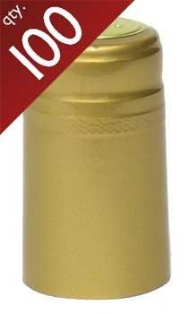 Gold PVC Capsules - 100 ct. LD Carlson 2484656