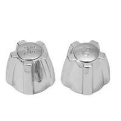 Faucet Crane Handles - BrassCraft Chrome Lavatory/Sink Handles for Crane Faucets SH2189
