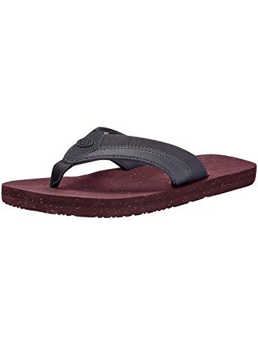 Animal Huxley Flip-Flops - Asphalt Grey UK 7