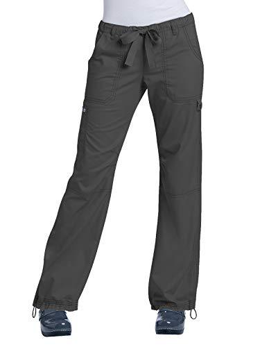 KOI Classics 701 Women's Lindsey Scrub Pant Charcoal SP