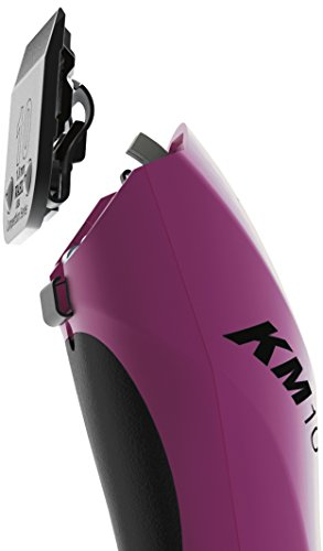 Wahl Professional Animal KM10 2-Speed Brushless Motor Pet, Dog, and Horse Clipper Kit, Berry (#9791-301)