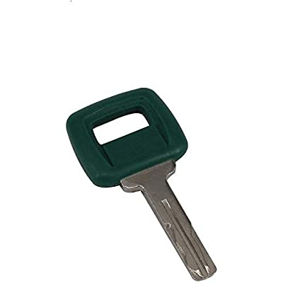 Aree 11039228 Laser Cut Heavy Equipment Ignition Key for Volvo Articulated Hauler Models A25D A35C A35D A40 A40D,2 Keys with Keychain: Industrial & Scientific