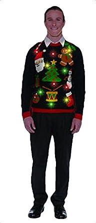 Light Up Christmas Sweaters