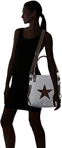 Stern Grau Body Bag Canvas Cross Bags4Less mini Women's S6qZPP