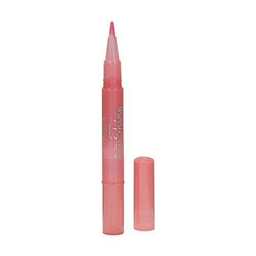 JORDANA Incolor LipShine Glaze Brush On Gloss - Pink Grapefruit