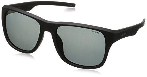 Black Grey Negro Sonnenbrille S Polaroid 3019 Matt Pz PLD 60qYOwp