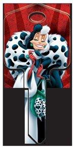 Disney's Cruella De Vil Key Blank - UL2 - Blank only, will need to be cut Keys-Cut
