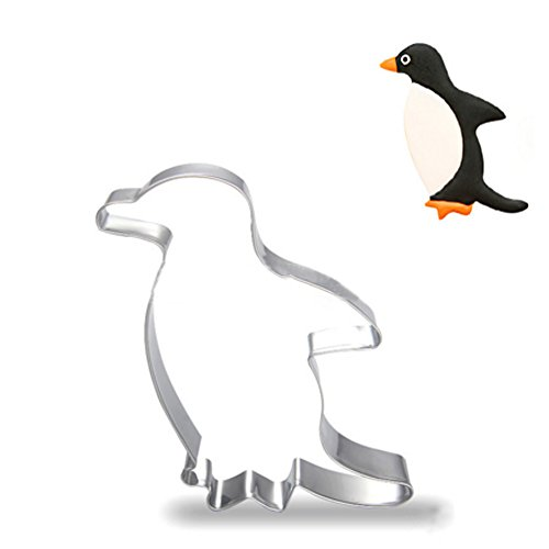 ZJWEI Animal Series Cookie Cutter for Celebrations Christmas Birthday Party Wedding Holiday (Penguin)
