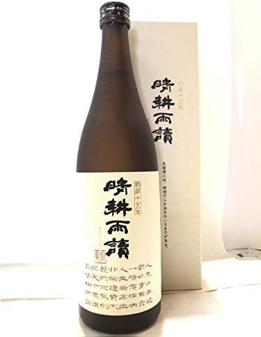 芋焼酎 晴耕雨読 貯蔵15年 720ml(箱付き)