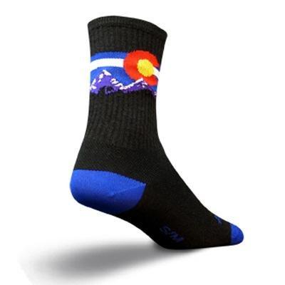 - SockGuy Colorado Mountain 6in Wool Socks One Color, L/XL - Men's