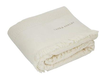 Laura Ashley de toallas de mano de flecos - en diferentes tamaños y coloures