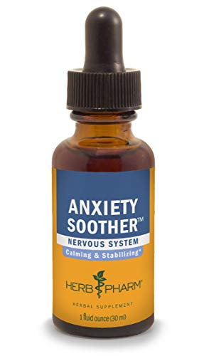 Herb Pharm Anxiety Soother Liquid Herbal Formula with Kava For Nervous System Support - 1 ()