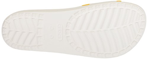 Crocs Womens Drew Barrymore Sloane Graphic Slide White gjjtiJM
