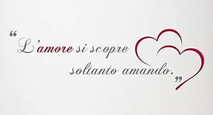 Wall Sticker Romantico Regalo Anniversario Adesivi Murale Amore