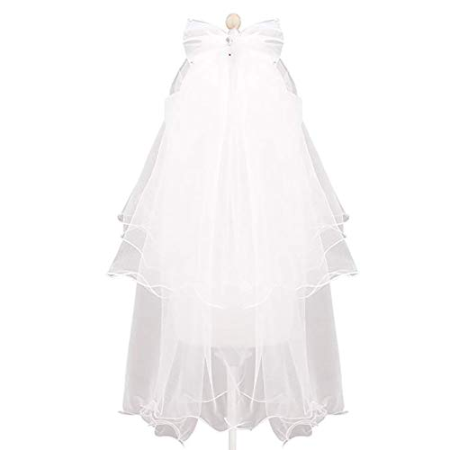 Flower Girl Veil, Children's Wedding Veil with A White -