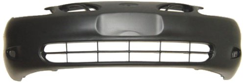 OE Replacement Ford Escort Front Bumper Cover (Partslink Number FO1000410) (Cover Escort Bumper Front Ford)