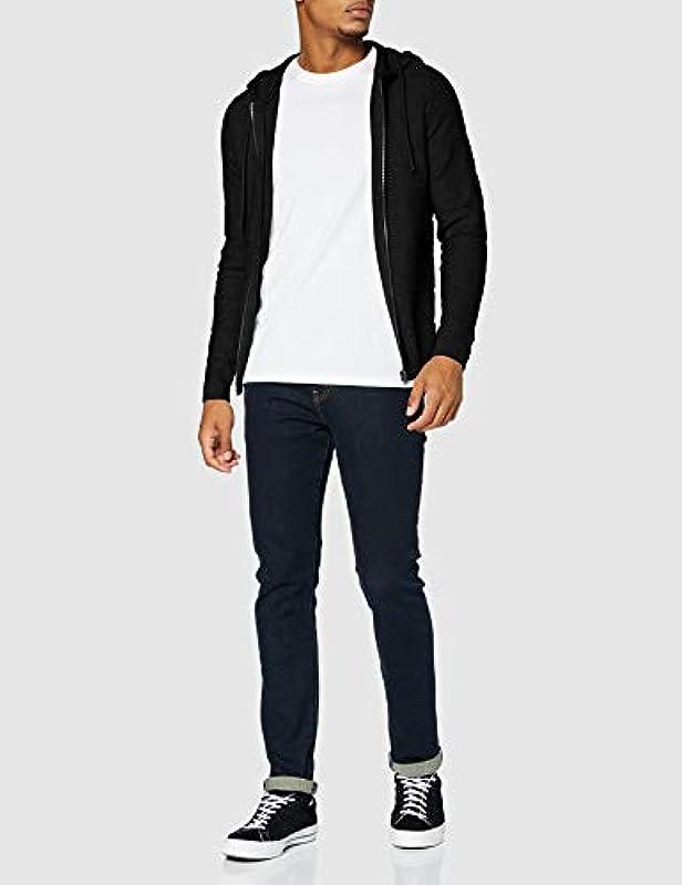 JACK & JONES Męska bluza z kapturem Jcosnow Knit Hood Cardigan: Odzież