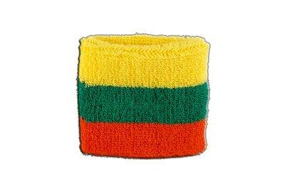 2er Set Flaggenfritze/® Schweissband Litauen