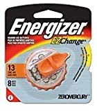 Energizer AZ13EZ-8 Size 13 EZ Change Hearing Aid Battery Retail Pack