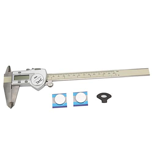 Durable Stainless Steel Waterproof Digital Caliper, IP54 Waterproof Caliper, Home Improvement Tools Hand Tools for DIY Tools DIY Hardware(0-200mm)