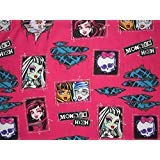 All Ghouls Allowed Monster High 100% Microfiber (Flat Sheet ONLY) Size Twin Girls Kids Bedding