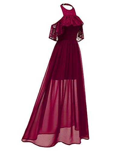 Bigforest Red Junior Homecoming Dress Dentelle For Prom Lace Robe Femme Casual Dresses Party Wine Halter Soir¨¦e Formal 35RLqSjc4A