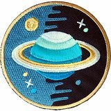 DIY Patch Nasa Space Jupiter patch for Kid Embroidered Iron On Patch , Buy 2 Get 1 Free.