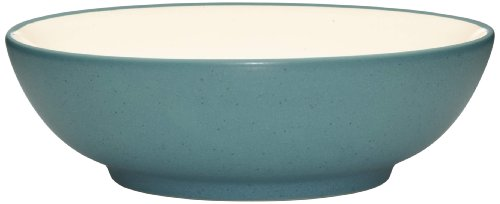 Colorwave Cream Cereal - Noritake Colorwave Soup/Cereal Bowl, Turquoise