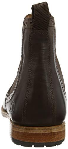 Brown Stivali Dark Chelsea 001 Uomo II Dudley Marrone Chatham wZU0znR1xq