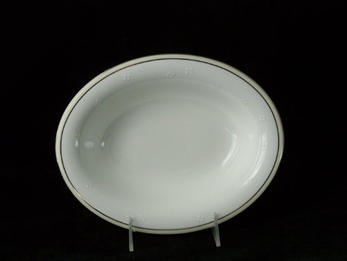 New Waterford Ballet Blossom Oval Vegetable Bowl