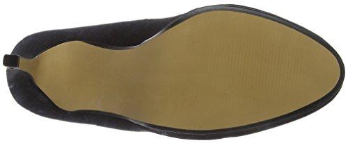 Black Tacco Head Punta Black Over Col Heels Scarpe Donna Chiusa Allessia xzOBXzH