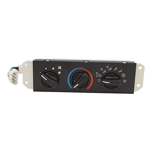 HVAC AC A/C & Heater Control with Blower Motor Switch for Jeep Wrangler TJ