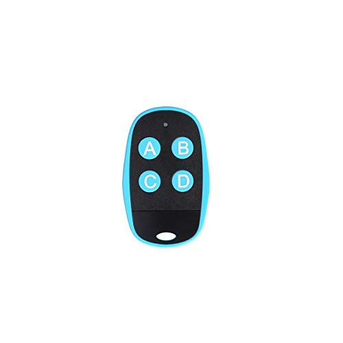 Universal Garage Door Remote Universal Gate Remote 4-Buttons Programmable Learning Multi Frequency 280MHZ-868MHZ Universal Garage Opener Remote Homelink Remote (Blue)
