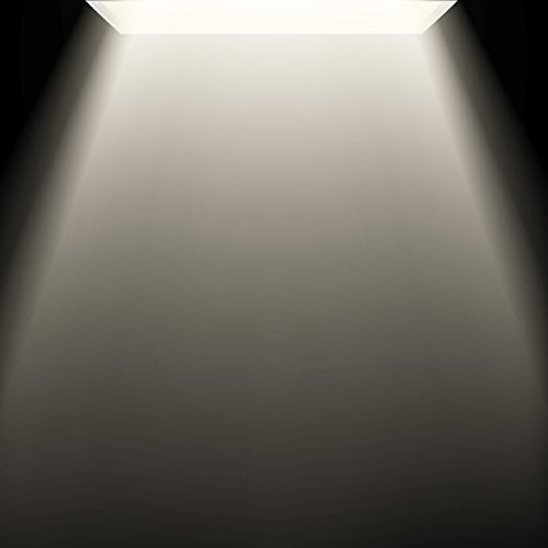 Luxrite 2x4 LED Flat Panel Light with Emergency Battery Backup, 60W 3500K Natural White, 0-10V Dimmable, 6630 Lumens, LED Drop Ceiling Lights, 100-277V, DLC and UL Listed, Ultra Thin Edge Lit - 2 Pack by LUXRITE (Image #1)