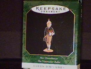 Hallmark Keepsake Ornament Herr Drosselmeyer Miniature - From the Nutcracker Ballet (1997) QXM4135