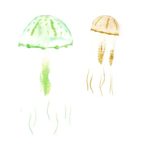 Amazon.com : eDealMax 2-Piece acuario artificiales medusas ...