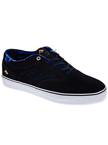 Emerica THE PROVOST - Zapatillas de cuero hombre Azul Marino
