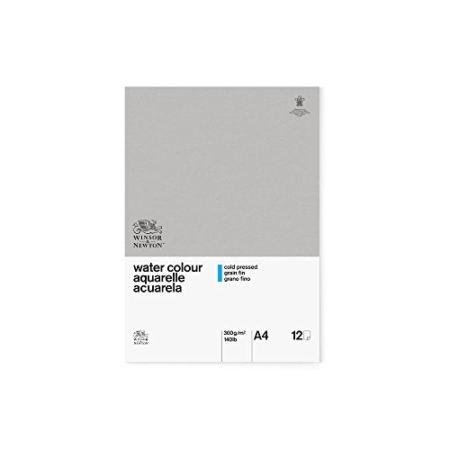 Winsor & Newton A4 Cold Pressed Water Colour Paper Gummed Pad