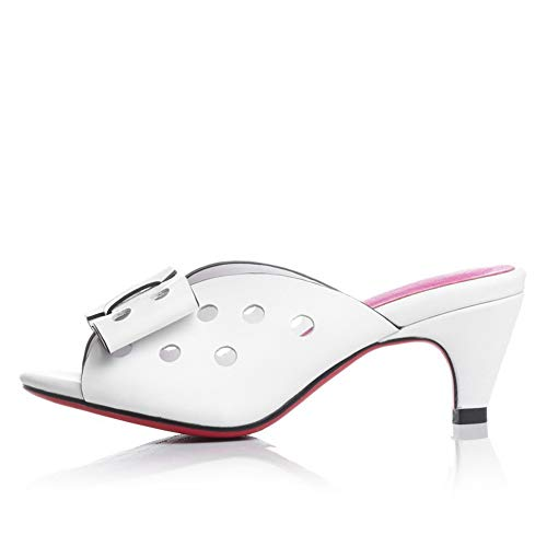 Donna White Ballerine 35 Bianco EYR00379 Aimint 4xEqT4