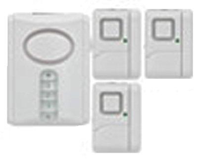 Jasco Products 51107 Security Alarm Kit, 4-Pc.
