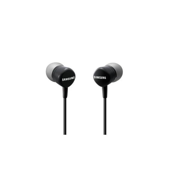 Samsung Original EO-HS130DBEGIN in -Ear Volume Control Handsfree (Black)