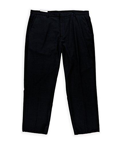 Calvin Klein Men's Pindot Dylan Pant, Officer Navy, 38x30