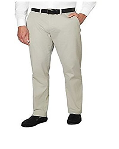 Tommy Hilfiger Mens Tailored Fit Chino Pants (34X34, Drizzle)