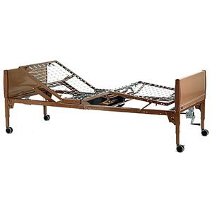 """IVC Value Care Semi-Electric Bed 88"""" x 15"""" to 23"""" x 36"""" [Each-1 (single)]"""