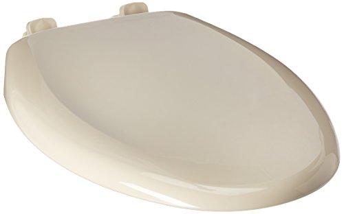 - Bemis 7900TDGSL 006 Hospitality Elongated Closed Front Heavy-Duty Plastic Toilet Seat with DuraGuard Antimicrobial Built-In Protection & Whisper Close Hinges, Bone